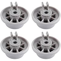 Wadoy 165314 Dishwasher Lower Rack Wheel Replacement for Bosch Neff Siemens AP2802428 PS3439123(4 Packs)