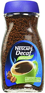 Café soluble, Nescafé, Descafeinado, 120 gramos