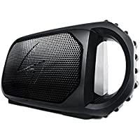 ECOXGEAR Eco Stone Portable Outdoor Bluetooth Speaker - Retail Packaging - Black