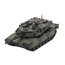 Kyosho US Army/USMC Abrams M1A2 Mini Bluetooth Tank, Black/Green/Brown Camo