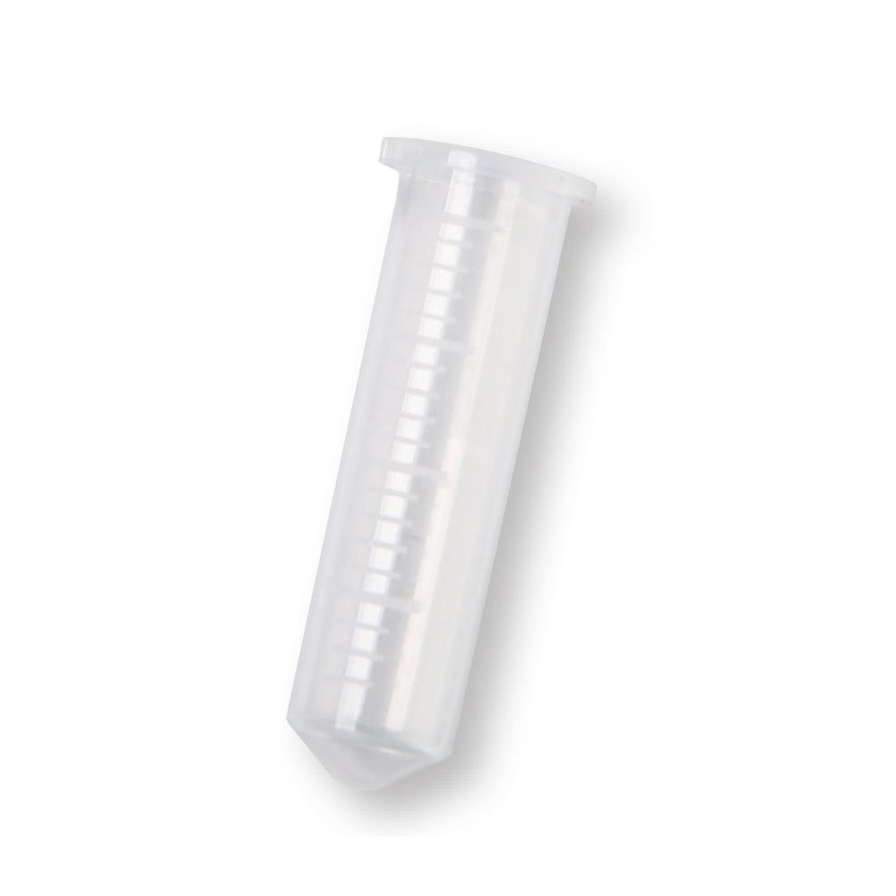 Red Polypropylene 0.6ml Microcentrifuge Tubes Box of 1000 Tubes//Unit
