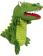 Sigikid 42756 Krokodil, My Little Theatre handspeelpop, groen