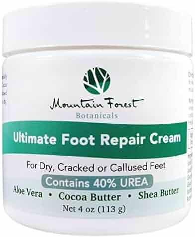 Urea 40% Percent Ultimate Foot Repair Cream & Dry Cracked Heel Treatment   Corn & Callus Remover w/Fresh Scent Aloe Vera, Cocoa & Shea Butter Moisturizer   Dry Dead Skin Remover for Feet