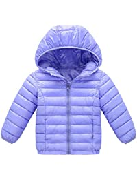 3764add4035 Toddler Baby Girls Boys Classic Bubble Jacket Packable Down Coat Winter  Warm Lightweight Thicken Puffer Down