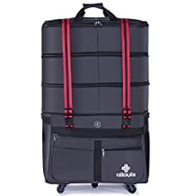 ailouis Expandable Extra Large Wheeled Duffel Luggage Bag (36 inch)