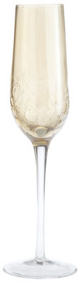 Crackle Champagne Flute - Golden Luster | Pier 1 Imports