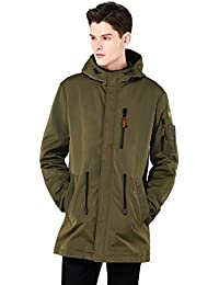 "<span class=""a-offscreen"">[Sponsored]</span>Men's Waterproof Casual Anorak Coat Windproof Rain Parka Jacket Outdoor Windbreaker With Hooded"