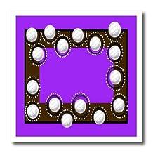 Beverly Turner Sport Design - Volleyballs, Purple - Iron on Heat Transfers