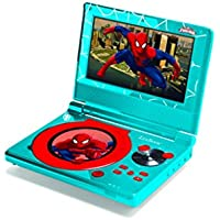 Ultimate Spider-Man Portable DVD Player, Blue