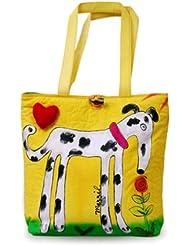 Bright Bags Brightworld Tote Bag, Big Dog, Large