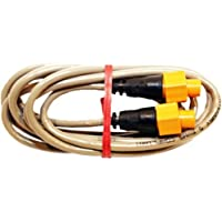LOWRANCE 6 Ethernet cable, ETHEXT-6YL, MFG# 000-0127-51, with 5 pin yellow connectors for use with Navico systems and NEP-1 or NEP-2 expansion port. / LOW-000-0127-51 /