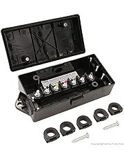 PEAKTOW PTT0045 Heavy Duty 7 Way Trailer Wiring Junction Box Connectors for RV Camper Car 1PK