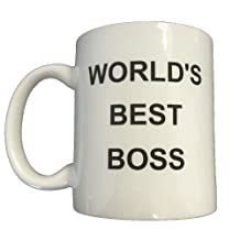 World's Best Boss Coffee Mug Michael Scott The Office Steve Carell Gift Work