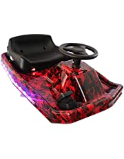COOLBABY 3 Speed Electric 360 Spinning Drifting Ride On Scooter Crazy Car For Kids DP7