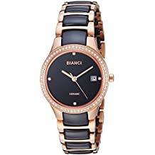 ROBERTO BIANCI WATCHES Women's 'Balbinus' Quartz Stainless Steel Casual Watch, Color:Two Tone (Model: RB2951)