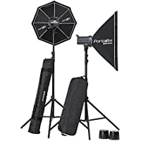 Elinchrom Lighting Kit D-LITE RX 4/4 SOFTBOX TO GO, Black (EL20839.2)