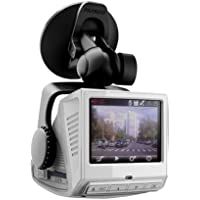 PAPAGO P1PRO-US P1 Pro Full HD 1080P Wide Viewing Angle Dashcam 2.4-Inch LCD (White)