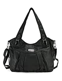 Scarleton Zipper Washed Shoulder Bag H1472