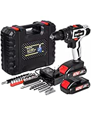 Cordless Drill With Screw To Multi-Function Battery 48V High Power Lithium Battery