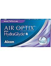 Air Optix plus HydraGlyde Multifocal maandlenzen zacht, 3 stuks/BC 8,6 mm/DIA 14,2 mm/ADD HIGH, blauw