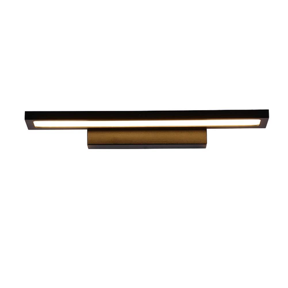 Führte moderne Spiegel Scheinwerfer, einfache Wandleuchte ultradünne Aluminium Wohnzimmer Schlafzimmer Treppe Gang Lichter Bad Badezimmer Spiegel Scheinwerfer ( Farbe   weißes Licht , Größe   60cm )