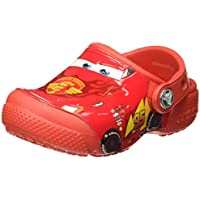 Sandália FunLab Cars, Crocs, Criança Unissex
