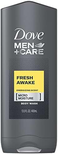 Dove Men+Care Body and Face Wash, Fresh Awake 13.5 oz