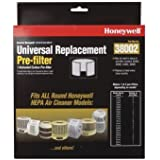 Honeywell Pre-Filter Fits All Round Honeywellmodels Ace No. 6068688 & 6068662