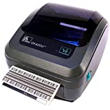 Zebra GK420d GK42-202510-000 Direct Thermal Barcode Label Printer Parallel USB 203 dpi