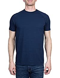 Crawley Men's Cotton Raglan Short Sleeve Slub Jersey Crew Neck Tee Shirt Crew Neck (See More Colors and Sizes)