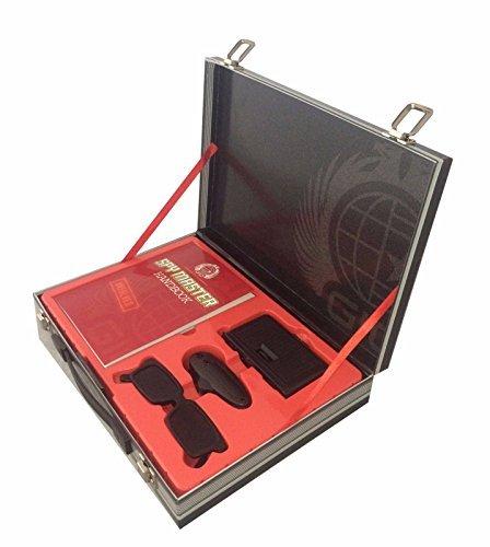 Spy Master Briefcase Black