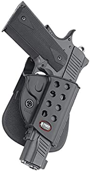 Fobus Standard Holster RH Paddle R1911 1911 Style with Rails Kimber TLE/RL & Springfield, One