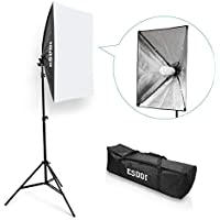 ESDDI 20X28 Softbox Portable Photography Lighting Kit Photo Equipment Studio Light 20X28 Portrait Video Advertising Shooting