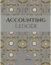 Accounting Ledger Book: Easy Daily Income And Expense Tracker Organizer Log Book. Bookkeeping journal in large print.