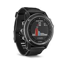 Garmin Sapphire Fenix 3 HR Gray Wrist Based HR Multi-Sport Training Watch