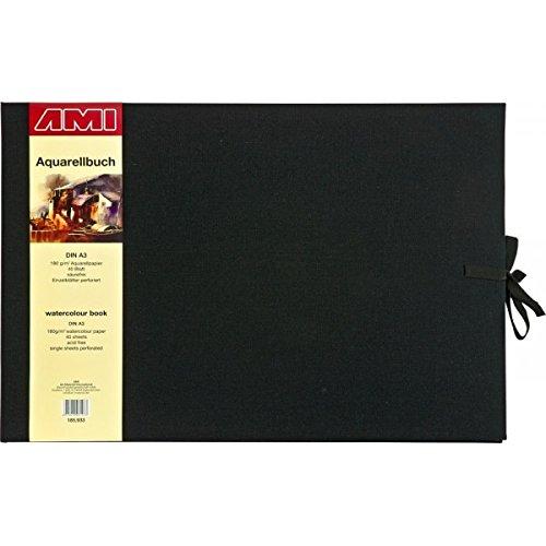185933 - - - Aquarellbuch DIN A3 quer - 40 Blatt - 180 g m² - Einzelblätter perforiert - säurefrei B01MRHC9DA      Speichern  ea12dd