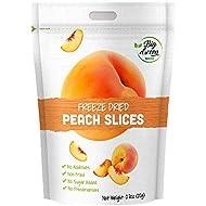Big Green Organic Food- Freeze-Dried Peach, Healthy Snacks, Natural Flavor (3)