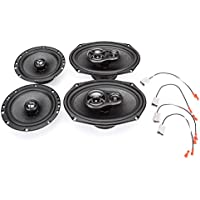 1996-1998 Honda Civic Complete Factory Replacement Speaker Package by Skar Audio