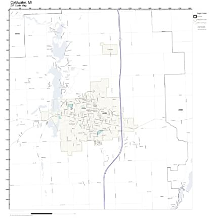 Zip code for coldwater ohio