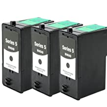 Shop At 247 « Remanufactured Ink Cartridge Replacement for Dell Series 5 (Black, 3-Pack)