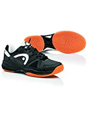Head Grid 2.0 Black/White Men's Indoor Court Shoes (10.5)