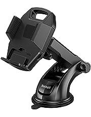 Beikell Telefoonhouder voor in de auto, mobiele telefoonhouder voor in de auto, dashboard, telefoonhouder met één knop voor iPhone12/11/XS Max/XR/X, Galaxy10/9/8, Huawei