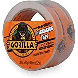 """Gorilla Heavy Duty Large Core Packing Tape for Moving, Shipping and Storage, 1.88"""" x 40 yd, Clear, (Pack of 1)"""