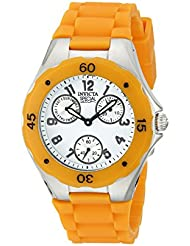 Invicta Womens INVICTA - 18792 Angel Orange/White Silicone Watch