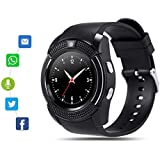 Bluetooth Smart Watch for Android Phone,Android Smart Watch Touchscreen with Camera, SIM Card Slot,Music for iPhone Samsung