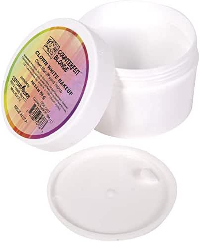 Narwhal Novelties Clown White Makeup (Small 3.4 Ounces)