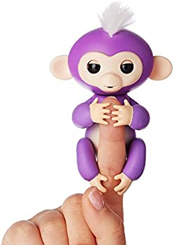WowWee Fingerlings Interactive Baby Monkey Toy Mia