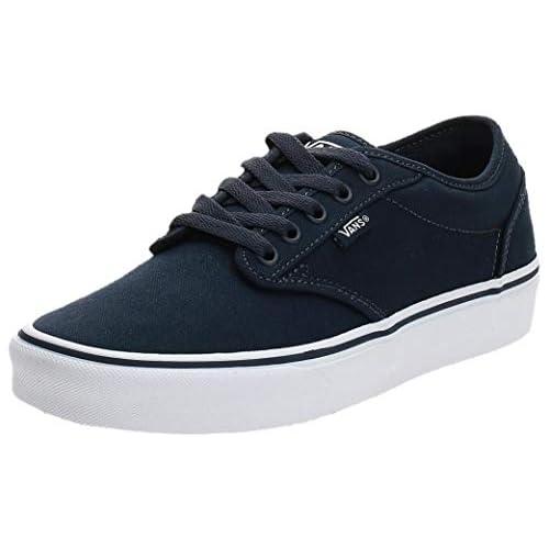 chollos oferta descuentos barato Vans Atwood Canvas Zapatillas para Hombre Azul Navy White 4k1 44 EU