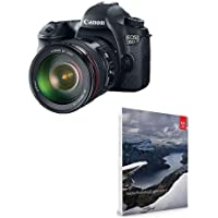 Canon EOS-6D Digital SLR Camera Kit with EF 24-105mm f/4L IS USM Lens - Bundle With with Adobe Photoshop Lightroom 6 Software