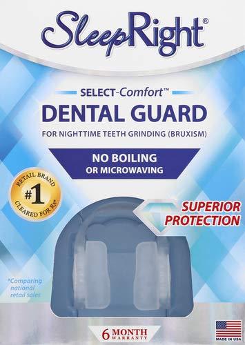 SleepRight Select No-Boil Dental Guard – Sleeping